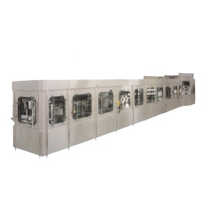 Chinese Professional Carbonated Beverages Production Line -