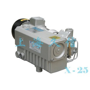 X-25 Single Stage Rotary dahon ng pakpak Vacuum Pump