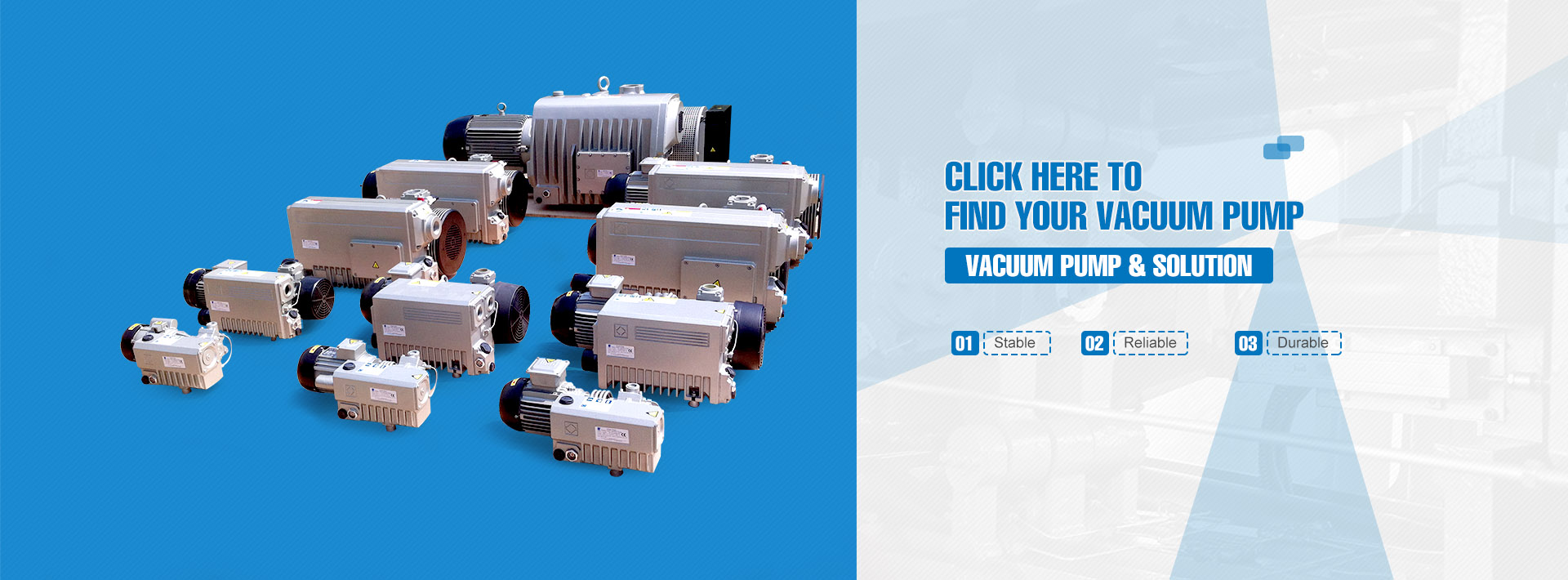 Vacuum Pump & Solution