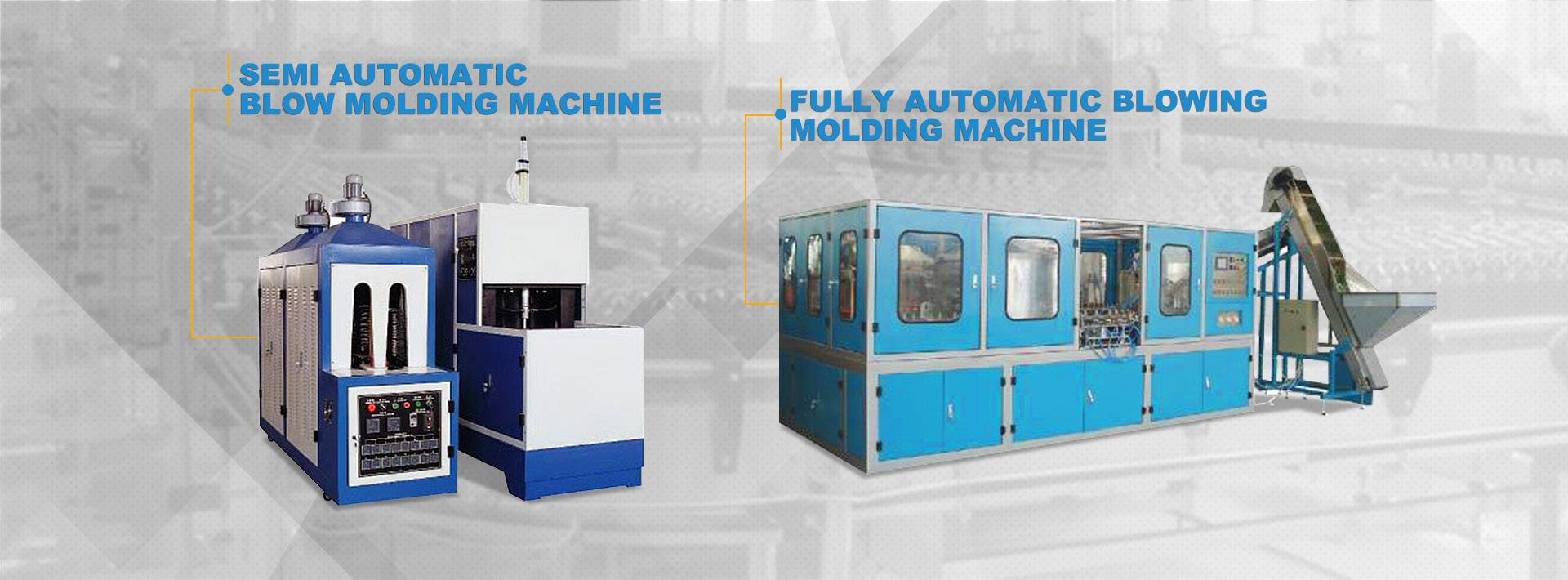 Semi Automatesch Blow Molding Machine