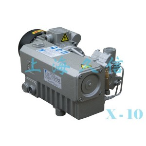 X-10 Single Stage Rotary dahon ng pakpak Vacuum Pump