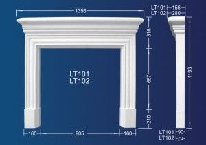 Shentai Fireplace LT101
