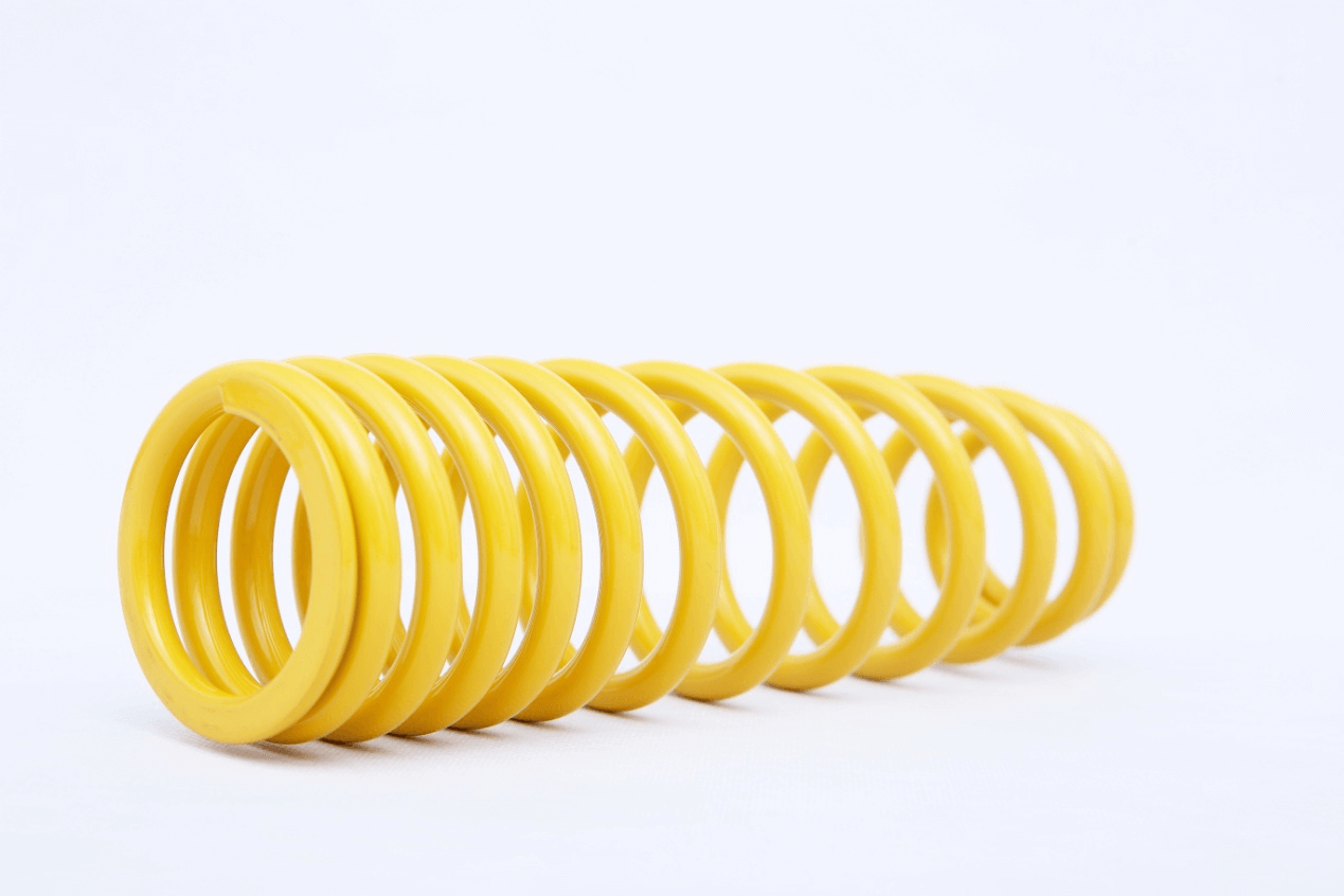 Various types of compression springs design process