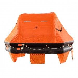 Thow-over Inflatable Life Raft