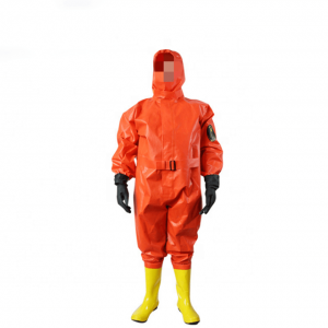 Semi Enclosed Chemical Protective Suit
