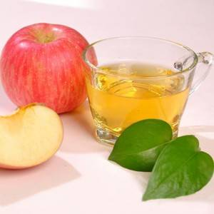 Apple cider vinegar granules