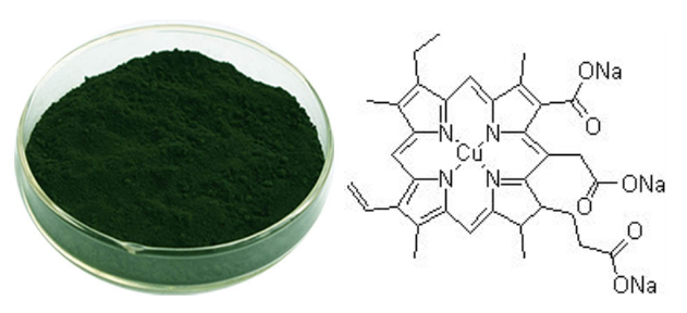 Sodium copper chlorophyllin221