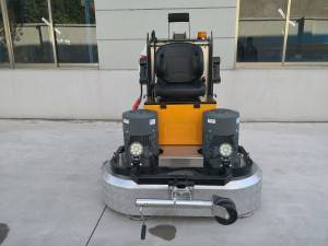 JS D1400 Heavy duty ride on surface concrete grinder for sale