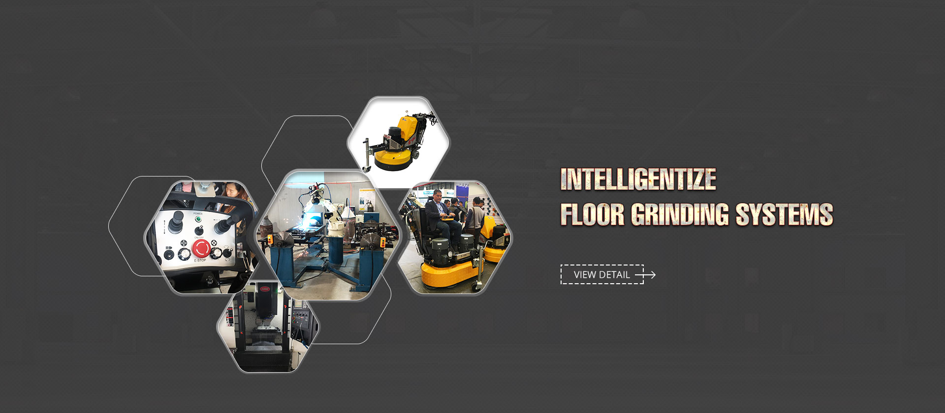 intelligentize floor grinding