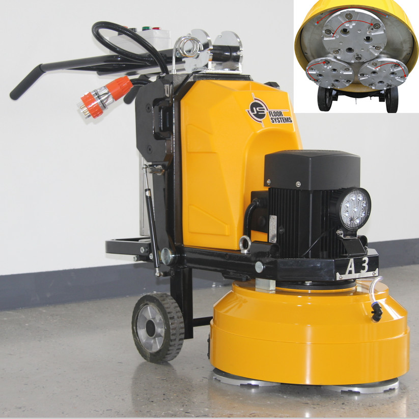 Concrete Surface Epoxy Floor Grinding Machine