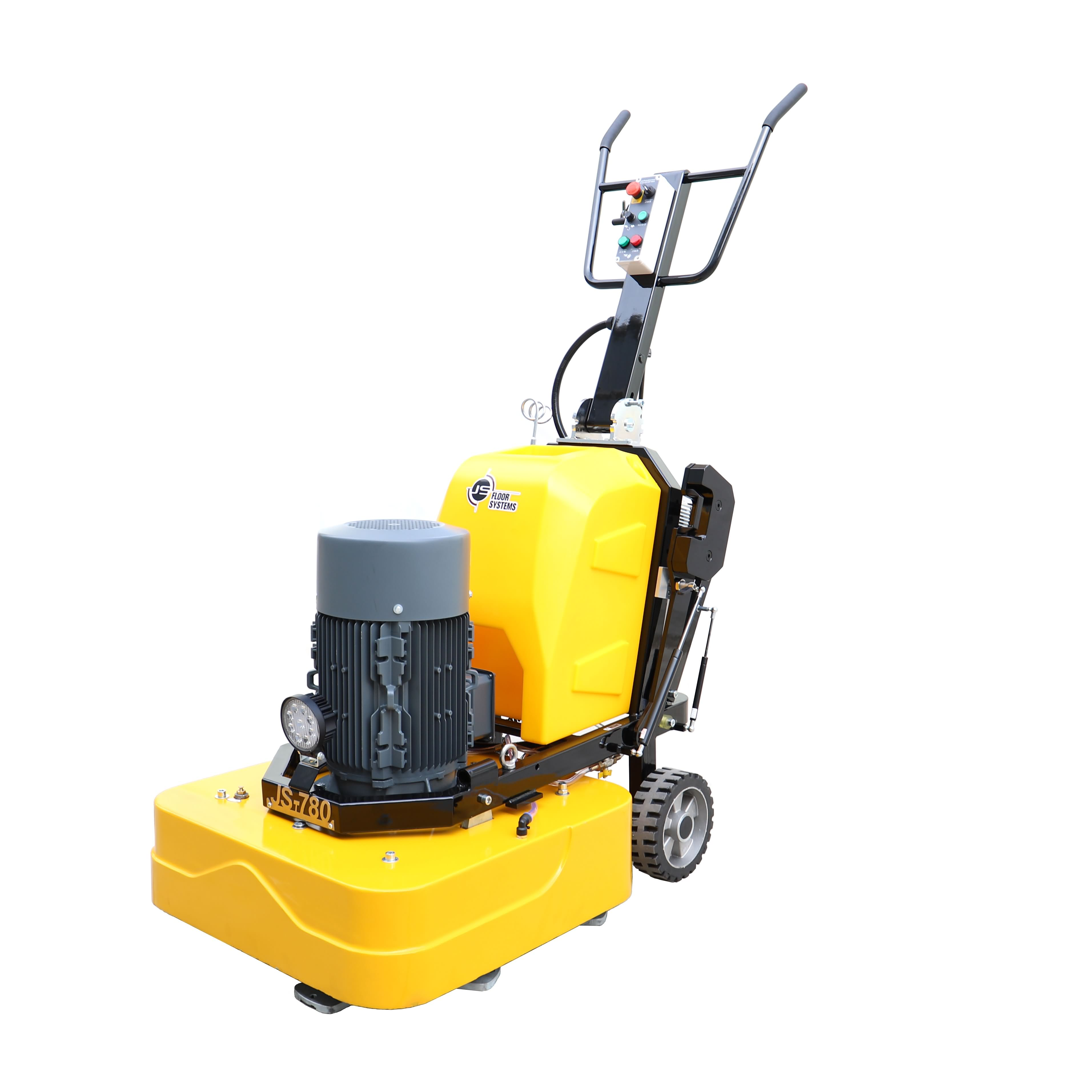 Concrete wet grinder and polisher