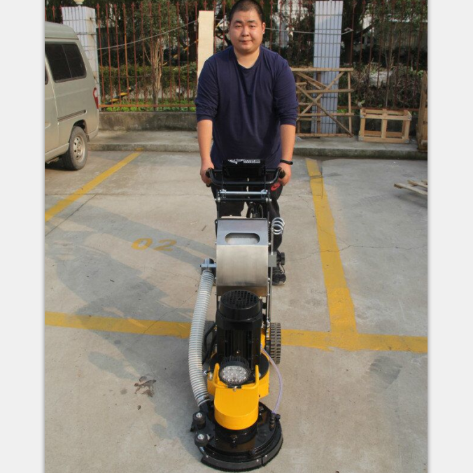 3HP Electric Hand-push Cement Ground Concrete Grinder Polisher Floor 220V
