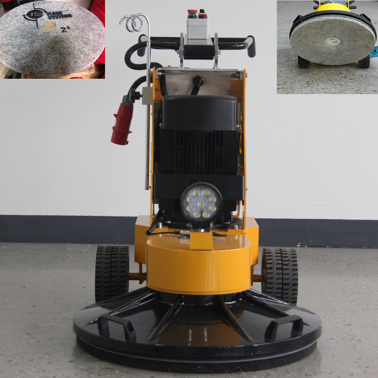 20 inch 27 inch buffer polishing machine with 1800rpm speed