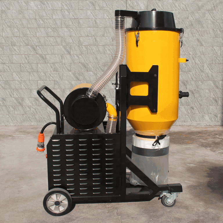 Two stage Cyclone Double HEPA industry vacuum cleaner