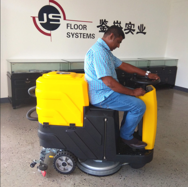 manual floor cleaning machine