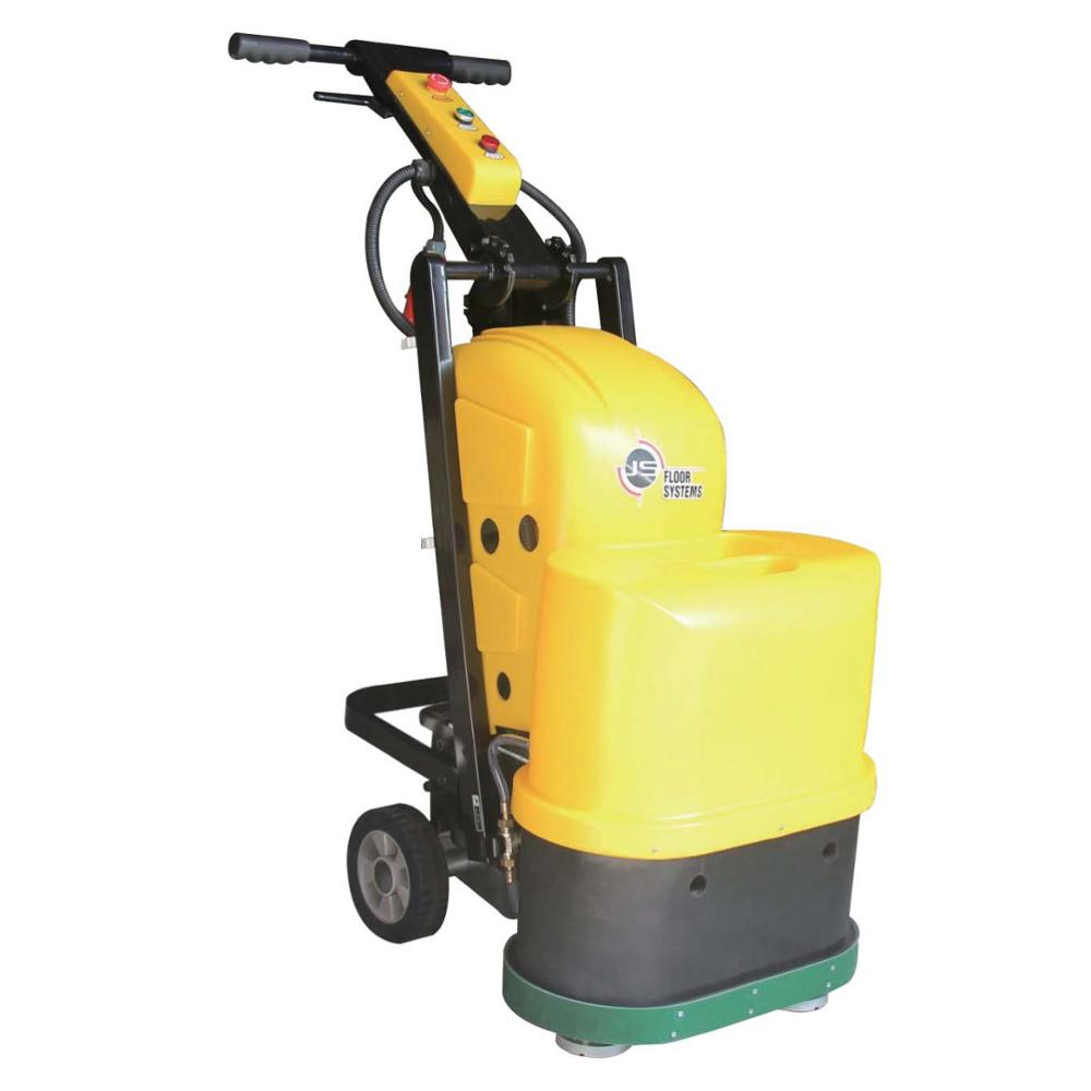 JS550 Model 6 Heads Floor Preparation Machine Concrete Floor Grinder