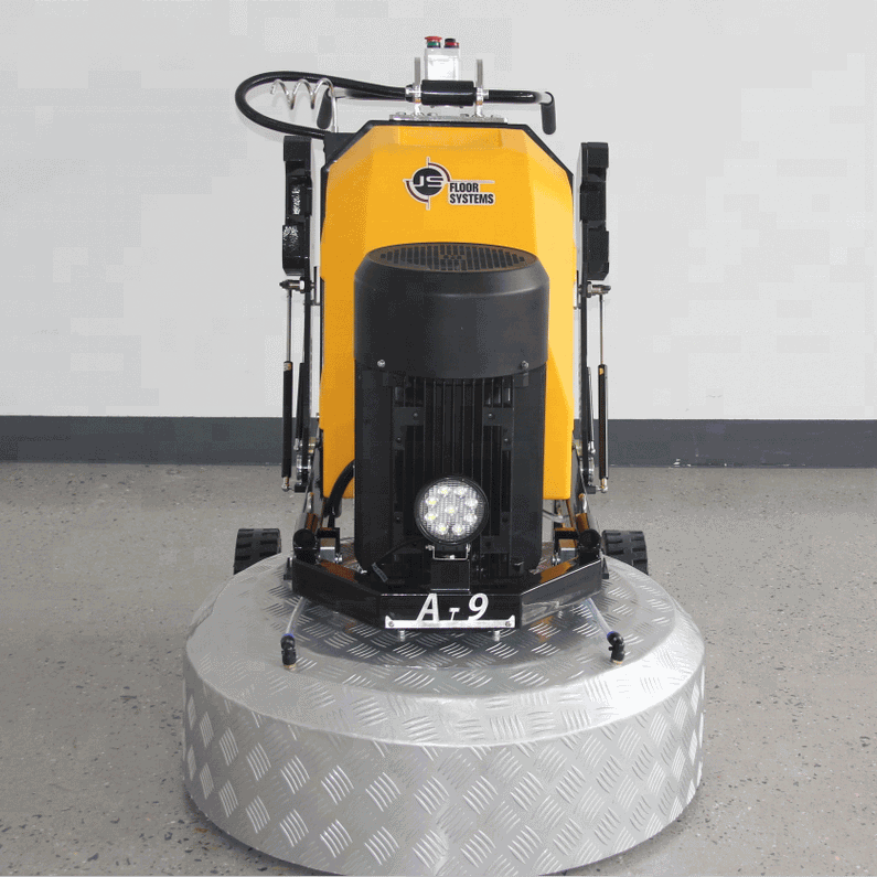 A8 Model 3 Heads 20HP Heavy Duty Planetary Concrete Floor Grinder