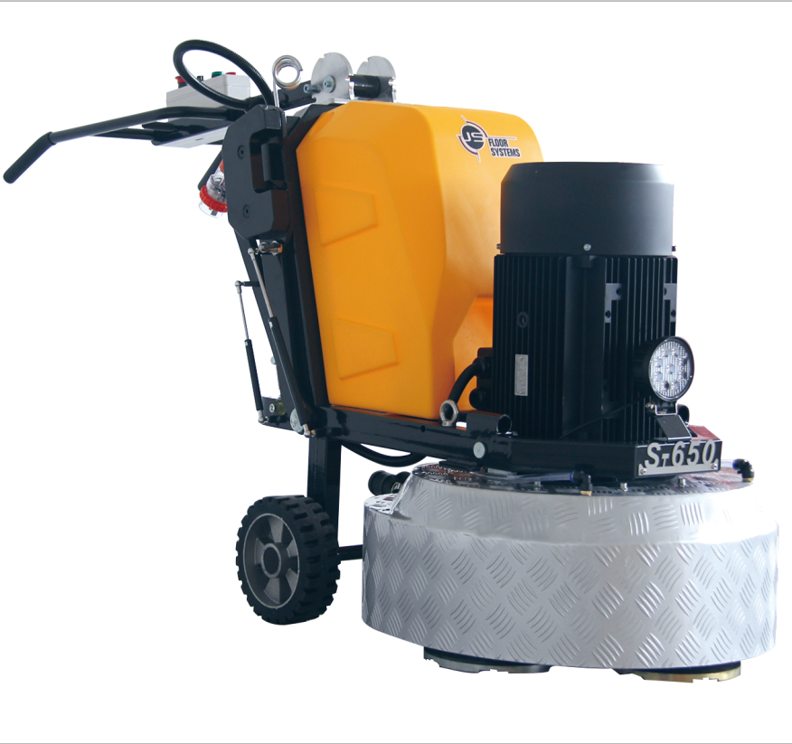 15HP Planetary Terrazzo Concrete Stone Floor Grinder and Polisher