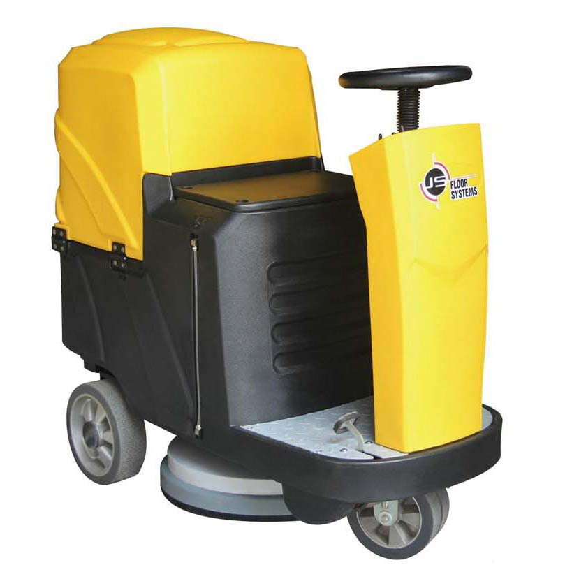 C6 Model ປະສິດທິພາບສູງ Ranger Ride On Compact Floor Scrubber