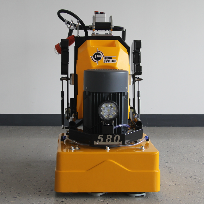 JS580 Concrete Floor Grinding Machine Marble Polisher Granite