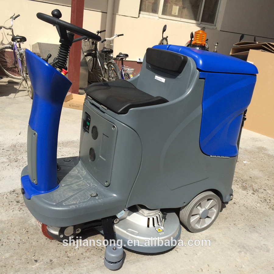 C7 big battery ride on floor cleaning machine