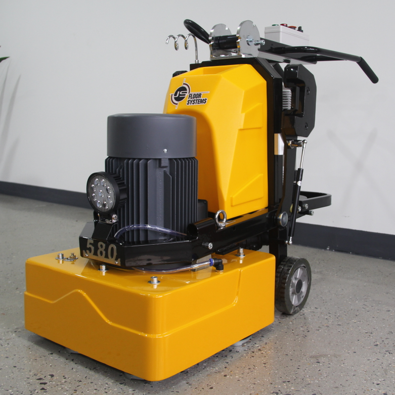 JS580 Approved concrete floor grinding machine