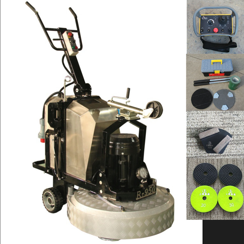 JS580 best price concrete floor surface manual grinding machine