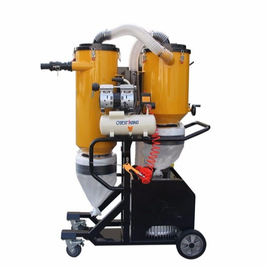 V7  Industrial Vacuum Cleaner Dust Collector For Concrete Grinder