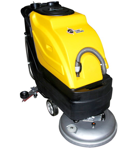 scrubber machine for marble cleaning