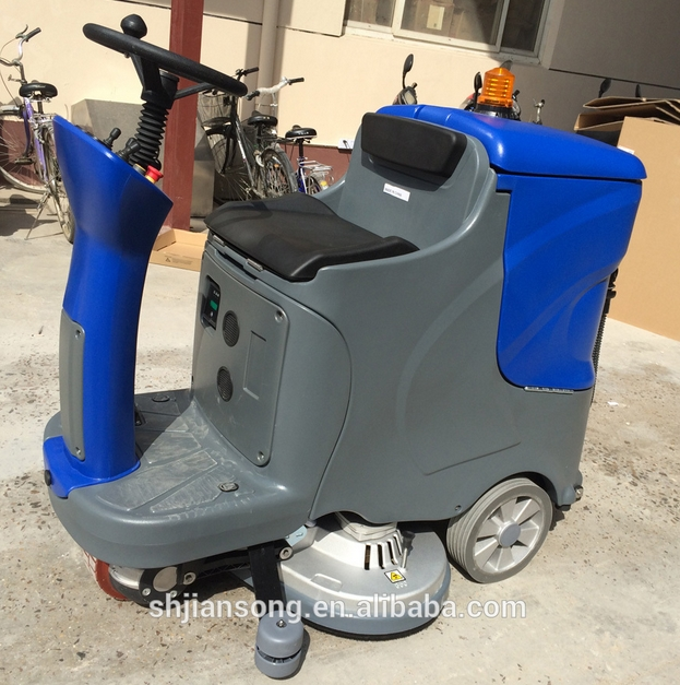 industrial cleaning machines with battery
