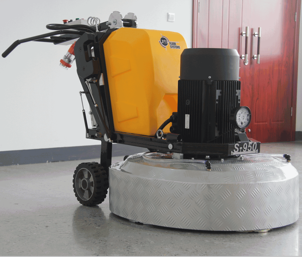 Remove painting coating epoxy floor grinding machine polishing machine price