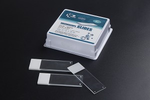 Huida Silane Coated Positive Charged Microscope Slides-White