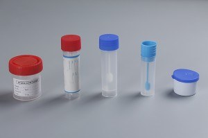 Disposable Plastic Sterile Stool Collection Container 20ml,30ml,60ml Blue Cap