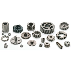 Sintered structural components for gearbox