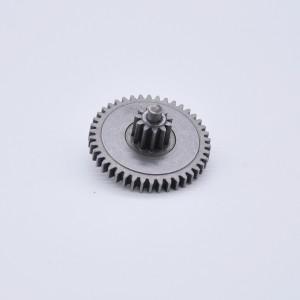 OEM powder metallurgy sintered double gear for power tool/gearbox/motor