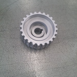 Water pump pulley gear