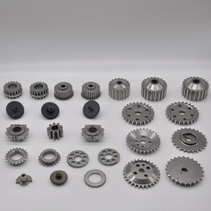 Powder forged gear