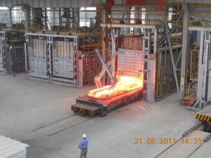 Double Regenerative Heating Furnace