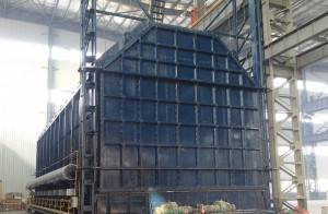 Natural gas heat treatment furnace