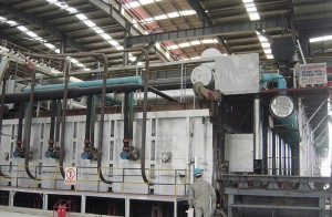 9m double regenerative wire heating furnace