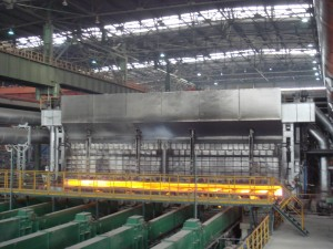 Industrial walking beam furnace Customer –...