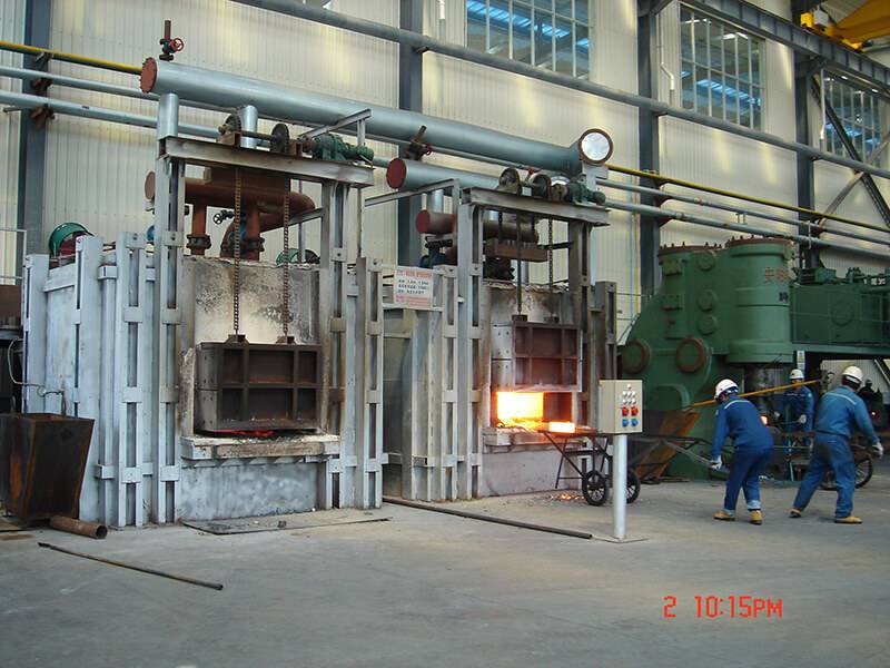 Talk about the structure and heating technology of the trolley-type annealing furnace