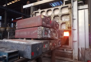 3000 Tons Press Heating Furnace