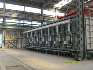 Hearth Type Hot Air Circulating Heat Treatment Annealing Furnace | OEM Industrial heating furnace
