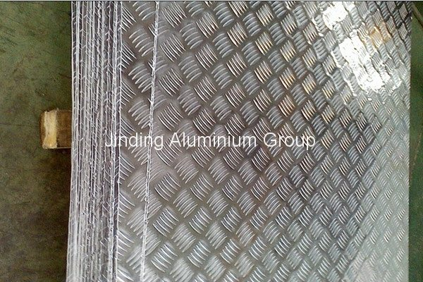 Wholesale Price China 1000 5-bar Aluminum Tread Plate for Azerbaijan Manufacturers