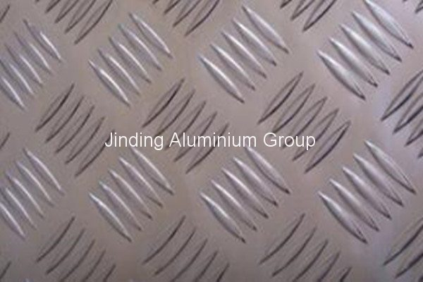 22 Years Factory 3000 5-bar Aluminum Tread Plate for Mauritius Manufacturers
