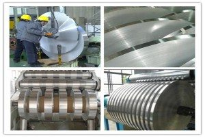 aluminim strip for water pipe