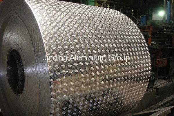 Supply for Aluminum Checker Plate Coil for Kuwait Manufacturers