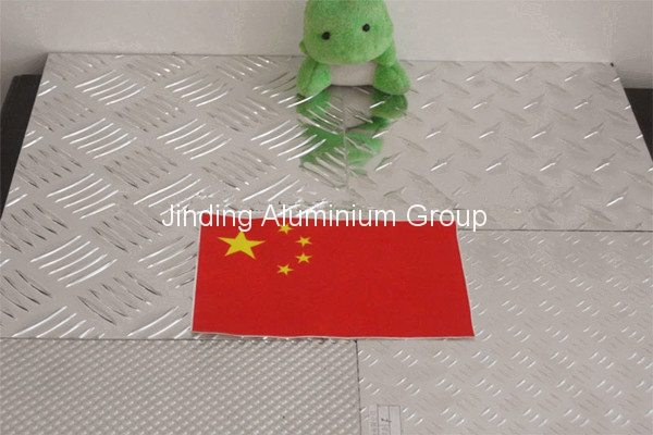 China New Product  Aluminum Sheet Embossed to Melbourne Importers