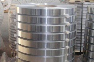 Aluminum strip for air duct